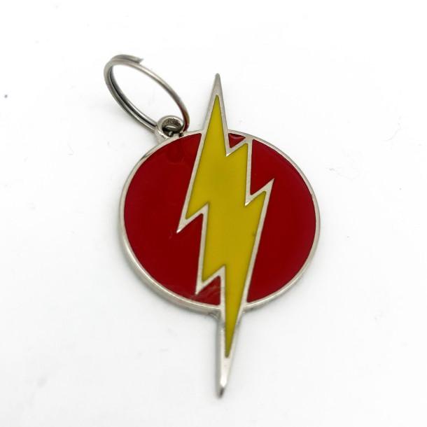 Pingente Flash - Coleção Super Heróis