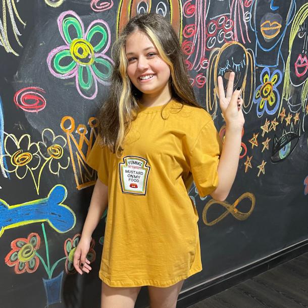 Camiseta Unissex MOSTARDA - Adulto
