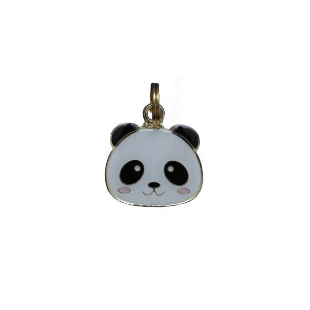 Pingente Esmaltado Panda - Woof Classic - Já gravado