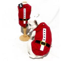 Regata Pet Papai Noel - Natal - Vermelha