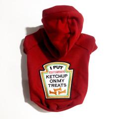 Moletom peluciado para gatos ou cachorros  - Ketchup