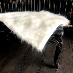 Manta para Sofá - pêlo alto - Off White
